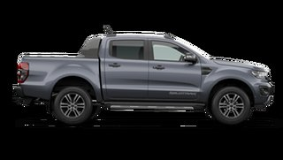 2021 Ford Ranger PX MkIII Wildtrak Meteor Grey 10 Speed Automatic Pick Up.