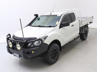 2016 Mazda BT-50 MY16 XT Hi-Rider (4x2) White 6 Speed Manual Freestyle Cab Chassis