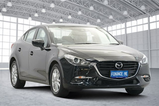 2018 Mazda 3 BN5276 Maxx SKYACTIV-MT Sport Black 6 Speed Manual Sedan.