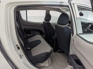 2010 Mitsubishi Triton MN MY10 GLX Double Cab 4x2 White 5 Speed Manual Utility