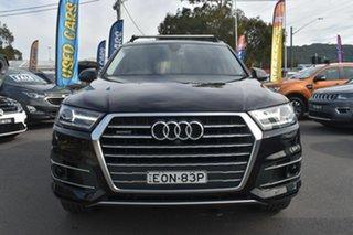 2018 Audi Q7 4M MY18 TDI Tiptronic Quattro Black Metallic 8 Speed Sports Automatic Wagon