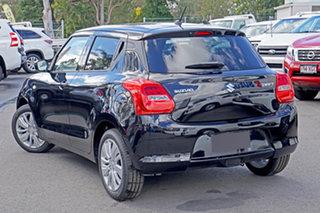 2021 Suzuki Swift AZ Series II GL Plus (Qld) Black Continuous Variable Hatchback.