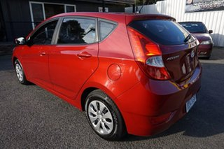 2017 Hyundai Accent RB4 MY17 Active Pulse Red 6 Speed Constant Variable Hatchback.