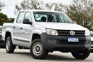 2013 Volkswagen Amarok 2H MY13 TSI300 4x2 Silver 6 Speed Manual Utility.