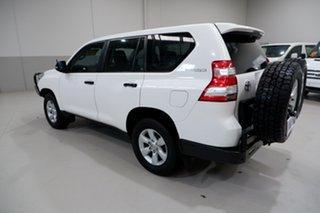 2015 Toyota Landcruiser Prado GDJ150R GX White 6 Speed Manual Wagon