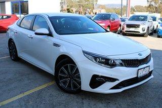 2019 Kia Optima JF MY20 SI Clear White 6 Speed Sports Automatic Sedan.