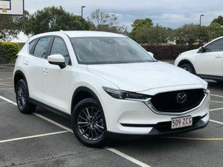 2019 Mazda CX-5 KF2W7A Maxx SKYACTIV-Drive FWD Sport White 6 Speed Sports Automatic Wagon.
