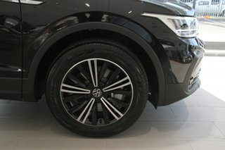 2021 Volkswagen Tiguan 5N MY21 132TSI Life DSG 4MOTION Black 7 Speed Sports Automatic Dual Clutch.