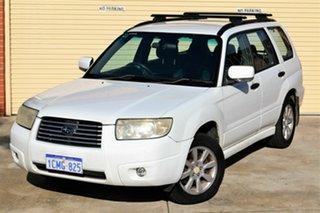 2005 Subaru Forester 79V MY06 XS AWD White 5 Speed Manual Wagon.