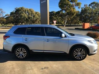 2016 Mitsubishi Outlander ZK MY16 LS 2WD Cool Silver 6 Speed Constant Variable Wagon.