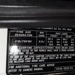 2003 Ford Transit VH High Roof Black 5 Speed Manual Van