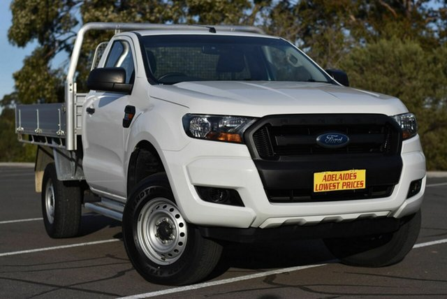 Used Ford Ranger PX MkII XL Enfield, 2016 Ford Ranger PX MkII XL White 6 Speed Manual Cab Chassis