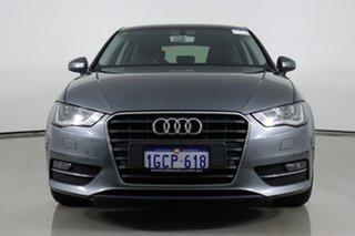 2016 Audi A3 8V MY16 1.8 TFSI Ambition Monsoon Grey 7 Speed Auto Direct Shift Sedan.
