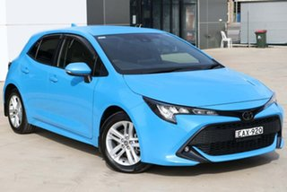 2019 Toyota Corolla Mzea12R SX Blue 10 Speed Constant Variable Hatchback.