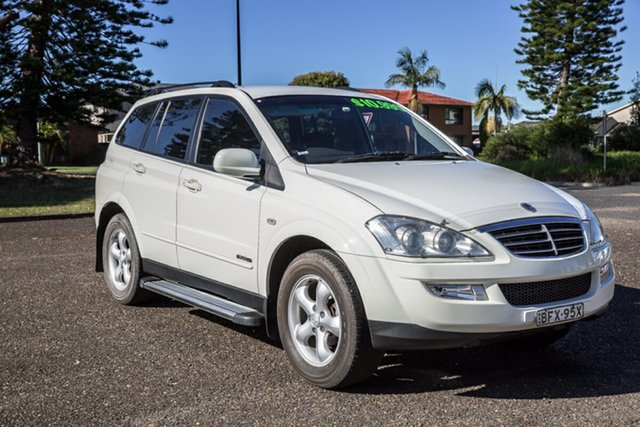 Used Ssangyong Kyron D100 Euro IV M200 XDi Port Macquarie, 2008 Ssangyong Kyron D100 Euro IV M200 XDi White 5 Speed Sports Automatic Wagon