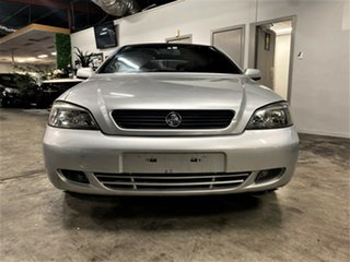 2004 Holden Astra TS MY03 Metallic Silver 4 Speed Automatic Convertible
