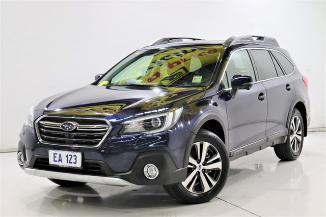 Used Subaru Outback B6A MY19 2.5i CVT AWD Premium Brooklyn, 2019 Subaru Outback B6A MY19 2.5i CVT AWD Premium Blue 7 Speed Constant Variable Wagon