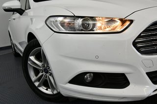 2017 Ford Mondeo MD Facelift Ambiente TDCi Frozen White 6 Speed Automatic Wagon.
