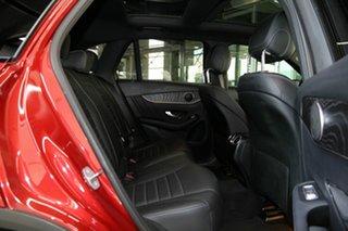 2018 Mercedes-Benz GLC-Class X253 809MY GLC250 9G-Tronic 4MATIC Red 9 Speed Sports Automatic Wagon