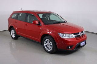 2015 Fiat Freemont JF MY15 Red 6 Speed Automatic Wagon