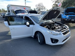 2012 Subaru Impreza G4 MY13 2.0i-L Lineartronic AWD White 6 Speed Constant Variable Hatchback
