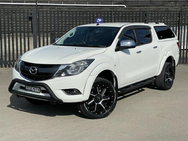 Used Mazda BT-50 UR0YF1 XTR 4x2 Hi-Rider Newcastle, 2015 Mazda BT-50 UR0YF1 XTR 4x2 Hi-Rider White 6 Speed Sports Automatic Utility