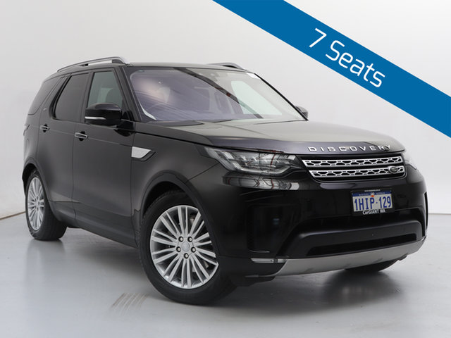 Used Land Rover Discovery MY18 TD6 HSE (190kW), 2018 Land Rover Discovery MY18 TD6 HSE (190kW) Black 8 Speed Automatic Wagon