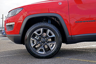 2018 Jeep Compass M6 MY18 Trailhawk Red 9 Speed Automatic Wagon