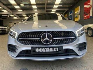 2021 Mercedes-Benz A-Class W177 A180 Silver Sports Automatic Dual Clutch Hatchback.