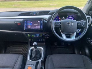 2018 Toyota Hilux GUN126R MY19 SR5 (4x4) Crystal Pearl 6 Speed Manual Double Cab Pick Up