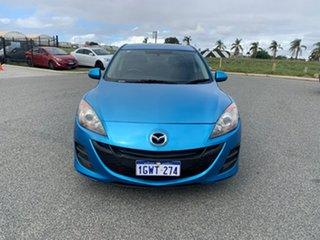 2011 Mazda 3 BL 10 Upgrade Maxx Sport Blue 5 Speed Automatic Sedan.