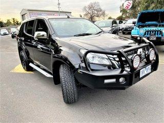 2015 Isuzu MU-X MY15 LS-U Rev-Tronic Black 5 Speed Sports Automatic Wagon.