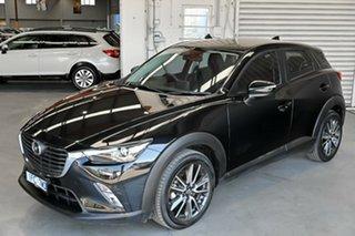 2016 Mazda CX-3 DK2W7A sTouring SKYACTIV-Drive Black 6 Speed Sports Automatic Wagon