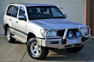 2000 Toyota Landcruiser FZJ105R GXL Gold 4 Speed Automatic Wagon.