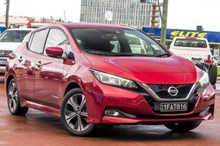 2020 Nissan Leaf ZE1 Red 1 Speed Reduction Gear Hatchback.