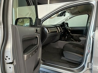 2016 Ford Ranger PX MkII XLT Double Cab 4x2 Hi-Rider Silver, Chrome 6 Speed Manual Utility