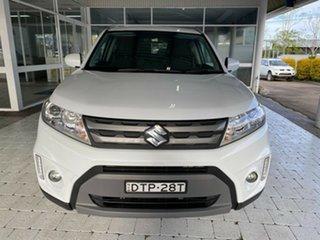 2017 Suzuki Vitara RT-S White Sports Automatic Wagon.