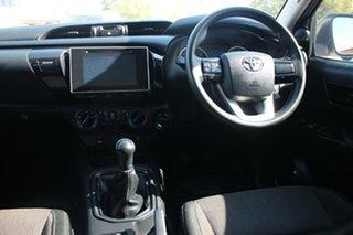 2017 Toyota Hilux GUN126R SR Double Cab Glacier White 6 Speed Manual Dual Cab