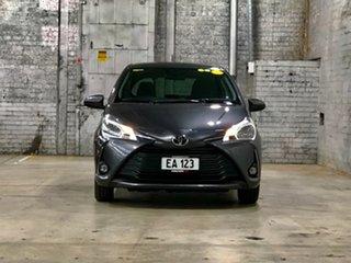 2017 Toyota Yaris NCP131R SX Grey 4 Speed Automatic Hatchback.