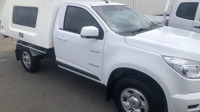 Used Holden Colorado RG MY14 LX 4x2 Moorooka, 2014 Holden Colorado RG MY14 LX 4x2 White 6 Speed Sports Automatic Cab Chassis