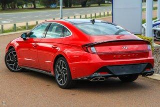 2021 Hyundai Sonata DN8.V1 MY21 N Line DCT Red 8 Speed Sports Automatic Dual Clutch Sedan.