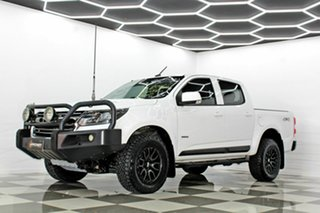 2016 Holden Colorado RG MY17 LS (4x4) White 6 Speed Automatic Crew Cab Pickup