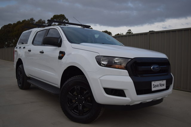 Used Ford Ranger PX MkII XL Echuca, 2017 Ford Ranger PX MkII XL White 6 Speed Sports Automatic Utility