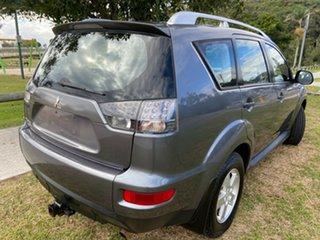 2009 Mitsubishi Outlander ZH MY10 LS Grey 6 Speed Constant Variable Wagon