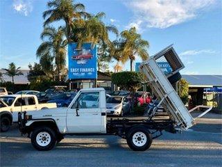 1994 Toyota Landcruiser HZJ75RP (4x4) White 5 Speed Manual Utility