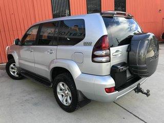 2005 Toyota Landcruiser Prado KZJ120R GXL Silver 4 Speed Automatic Wagon.