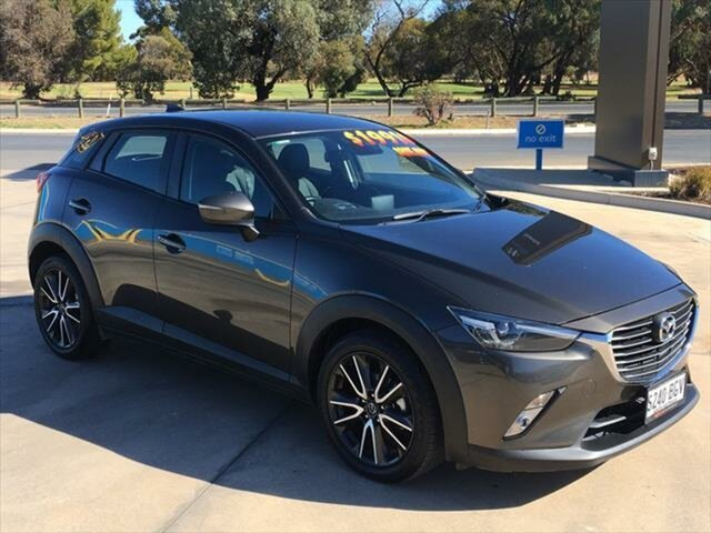 Used Mazda CX-3 DK2W7A sTouring SKYACTIV-Drive Berri, 2015 Mazda CX-3 DK2W7A sTouring SKYACTIV-Drive Titanium Flash 6 Speed Sports Automatic Wagon
