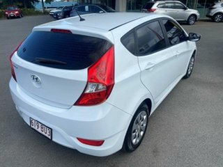 2016 Hyundai Accent RB4 MY17 Active Century White 6 Speed Constant Variable Hatchback