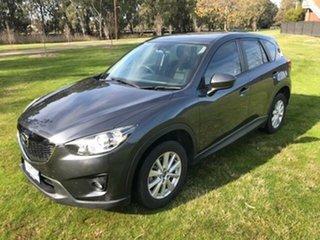 2013 Mazda CX-5 MY13 Maxx Sport (4x2) Grey 6 Speed Automatic Wagon.