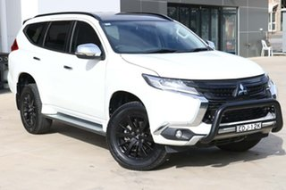 2019 Mitsubishi Pajero Sport QE MY19 Black Edition White 8 Speed Sports Automatic Wagon.